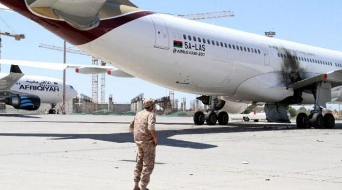 لیبیا کے بین الاقوامی ایئرپورٹ پر باغیوں کا حملہ، 12 افراد ہلاک