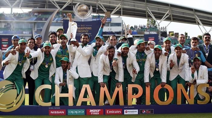 آئی سی سی ایوارڈز: پاکستان کی چیمپینز ٹرافی میں جیت بہترین لمحہ قرار