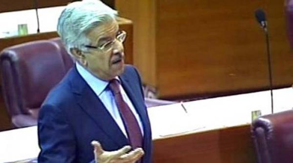 جب ہم پارلیمنٹ کو گالی دیں گے تو کسی ادارے پر اس کا احترام لازم نہیں، خواجہ آصف