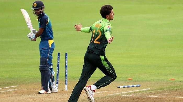 انڈر 19 ورلڈ کپ: پاکستان نے سری لنکا کو شکست دے دی