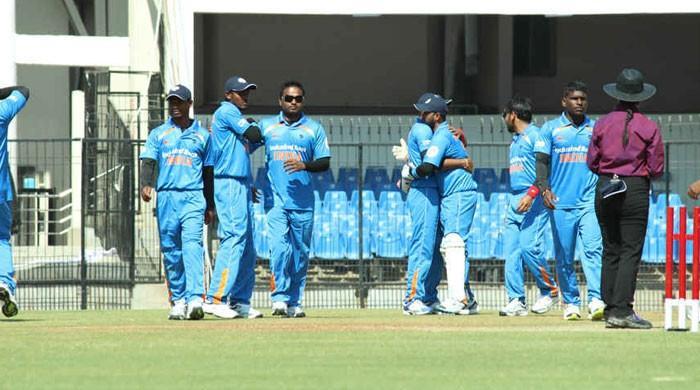 بھارت نے پاکستان کو شکست دے کر بلائنڈ کرکٹ ورلڈ کپ جیت لیا