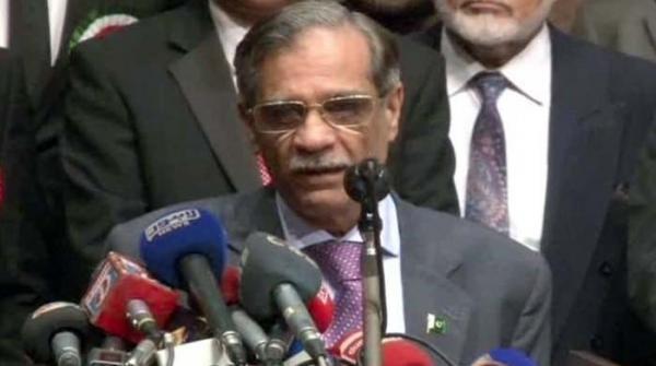 جمہوریت کو پامال نہیں ہونے دیں گے، چیف جسٹس پاکستان
