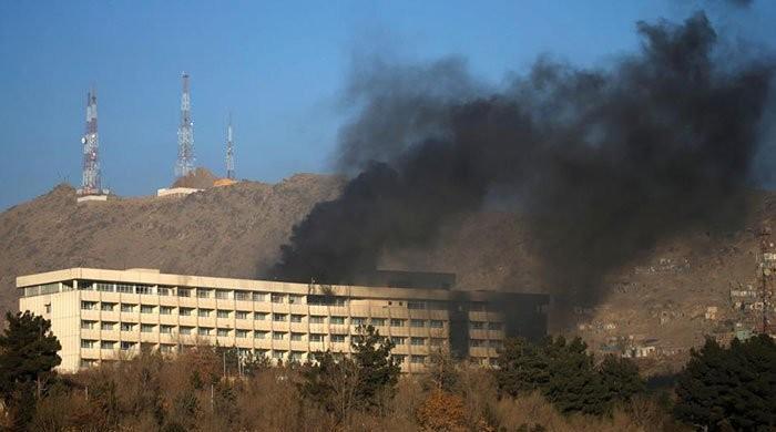 افغان دارالحکومت کابل میں ہوٹل پر حملہ،5 افراد ہلاک، 126 افراد ریسکیو
