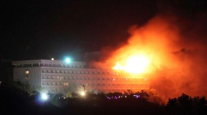 افغان دارالحکومت کابل میں ہوٹل پر دہشت گردوں کا حملہ
