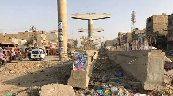 کراچی کے اورنج لائن بس منصوبے میں تاخیر، عوام اذیت میں مبتلا