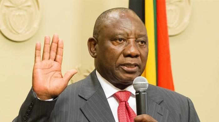جنوبی افریقا کے نئے صدر رامافوسا نے عہدے کا حلف اٹھالیا