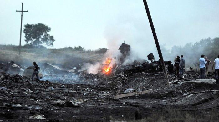 ایران کے تباہ شدہ مسافر طیارے کے ملبے کی تلاش کا کام دوبارہ شروع