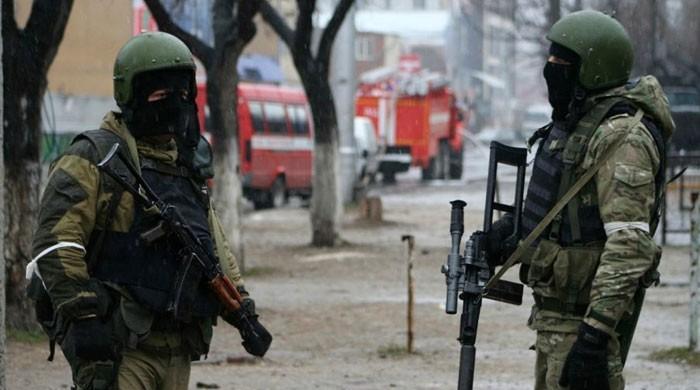 روس میں چرچ کے باہر فائرنگ، 4 خواتین ہلاک