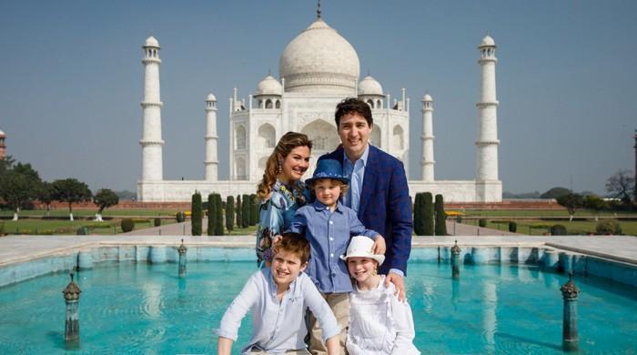 کینیڈین وزیراعظم جسٹن ٹروڈو کو تاج محل دیکھ کر بچپن کی یاد آگئی