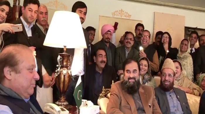 ن لیگ کا اہم اجلاس، نوازشریف نے پارٹی رہنماؤں اورکارکنوں کو لطیفہ بھی سنادیا