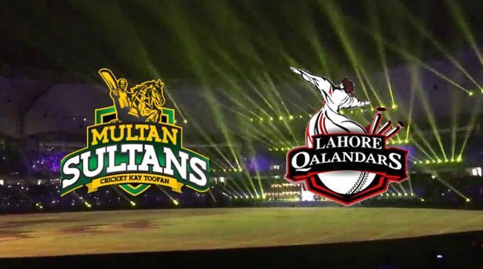 پی ایس ایل3: لاہور قلندرز کا ٹاس جیت کر ملتان سلطانز کیخلاف فیلڈنگ کا فیصلہ