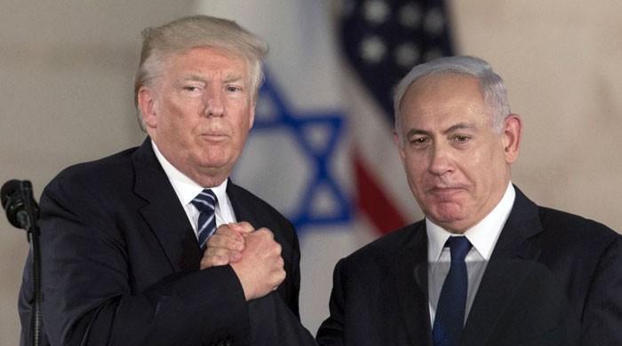 مقبوضہ بیت المقدس میں امریکی سفارتخانے کی افتتاحی تقریب میں شریک ہوسکتا ہوں، ٹرمپ