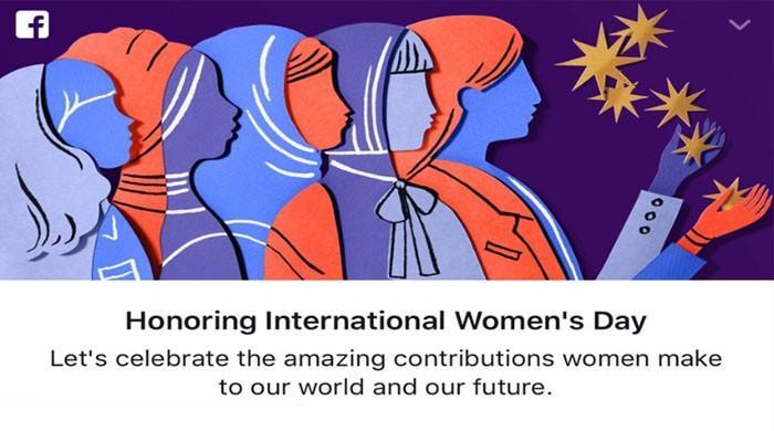 فیس بک بھی خواتین کا عالمی دن منانے میں پیش پیش