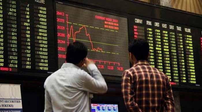 پاکستان اسٹاک ایکسچینج: ہفتے کے اختتام پر 729 پوائنٹس کی کمی