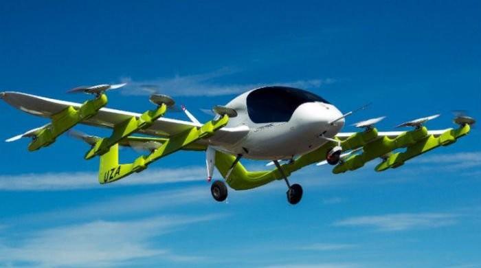 گوگل کی فلائنگ ٹیکسی کی آزمائشی پرواز