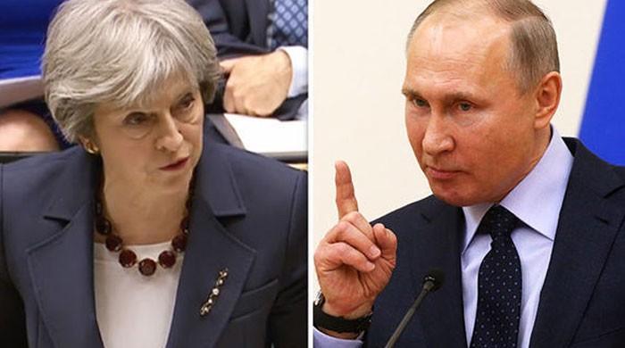 روس نے بھی برطانیہ کے 23 سفارتکاروں کو ایک ہفتے میں ملک چھوڑنے کا حکم دے دیا