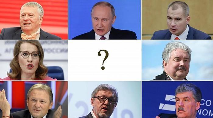 روس میں صدارتی انتخاب کیلئے پولنگ، پیوٹن کا چوتھی بار منتخب ہونے کا قوی امکان