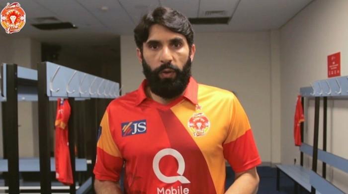 اسلام آباد یونائٹیڈ کے کپتان مصباح الحق کی آج کے میچ میں شرکت مشکوک
