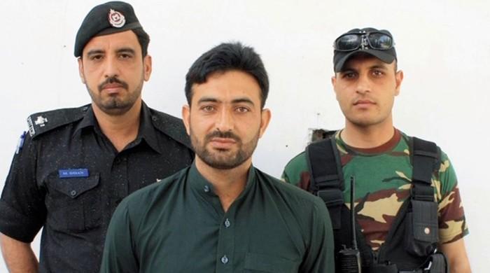 مشال قتل کیس: مطلوب ملزم صابر مایار نے خود کو پولیس کے حوالے کردیا