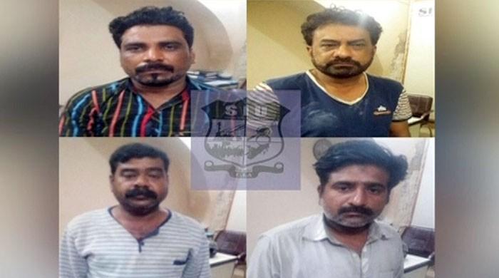 کراچی سے صرف خواتین کو لوٹنے والا گروہ گرفتار