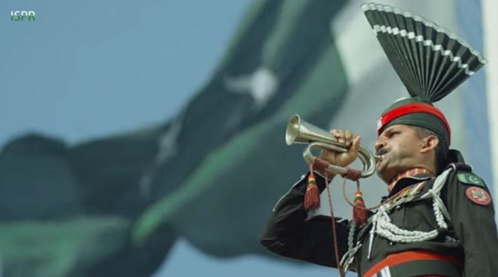 78ویں یوم پاکستان کے موقع پر آئی ایس پی آر کا نیا ملی نغمہ جاری