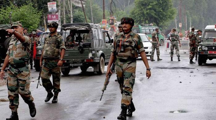مقبوضہ کشمیر میں بھارتی فوج نے 4 کشمیریوں کو شہید کردیا