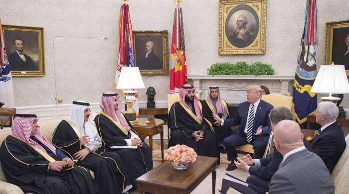 ٹرمپ کی سعودی عرب سے امریکا میں سرمایہ کاری کی درخواست