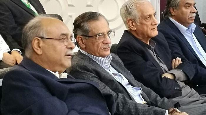 پی ایس ایل: چیف جسٹس آف پاکستان بھی میچ دیکھنے قذافی اسٹیڈیم پہنچ گئے