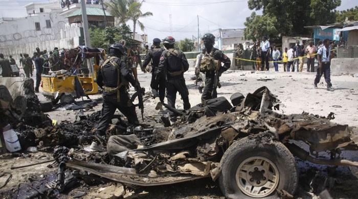 صومالیہ میں کار بم حملے میں 14 افراد ہلاک