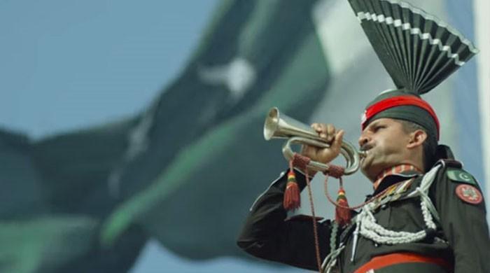یوم پاکستان کا جشن یادگار ملی نغموں کے ساتھ