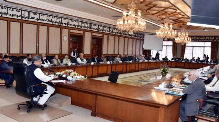 وفاقی کابینہ نے 3 سالہ بجٹ اسٹریٹجی پیپر کی منظوری دے دی