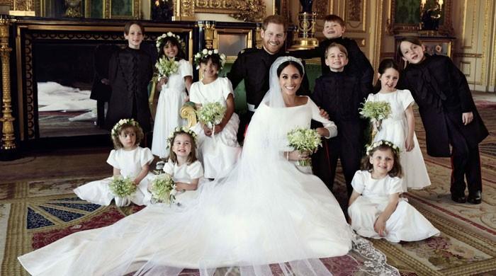 برطانوی شاہی محل نے ہیری اور میگھن شادی کی 3 خصوصی تصاویر جاری کردیں