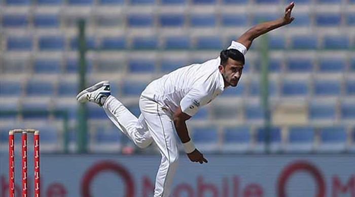 انگلینڈ کے خلاف ٹیسٹ سے قبل حسن علی انجری کا شکار
