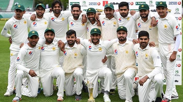 لارڈز ٹیسٹ کیلئے پاکستانی ٹیم کے 12 کھلاڑیوں کا اعلان