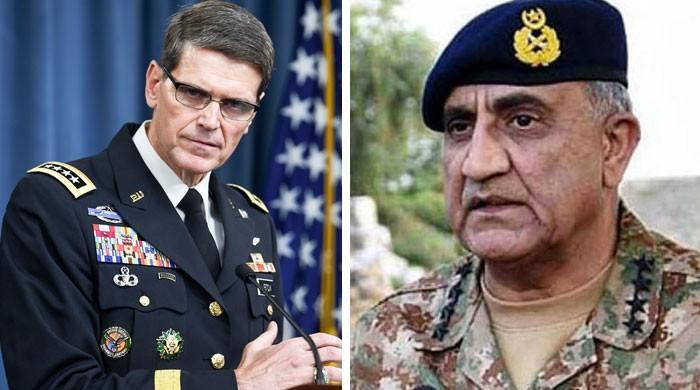 امریکی سینٹرل کمانڈ کے کمانڈر کا آرمی چیف کو فون،سبیکا شیخ کی موت پر تعزیت