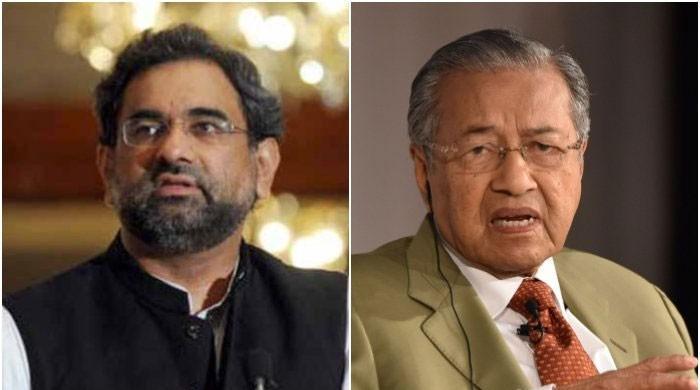 پاکستان اورملائیشین وزرائے اعظم کا دوطرفہ تعلقات کو مزید مضبوط کرنے پراتفاق