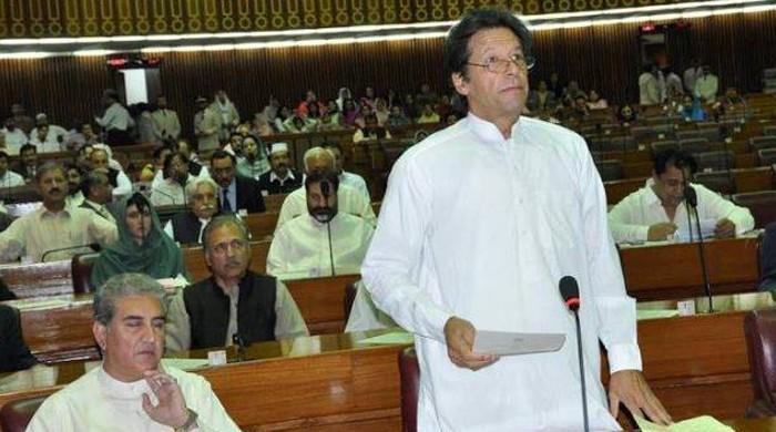 فخر ہے کہ ایک کرپٹ وزیراعظم منی لانڈرنگ پر مجرم ٹھہرایا گیا:عمران خان