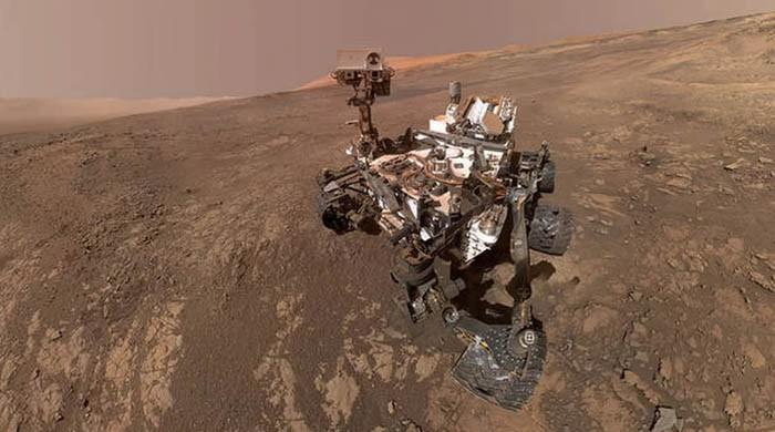 مریخ پر زندگی اور ایک اجنبی مخلوق کی موجودگی کا انکشاف