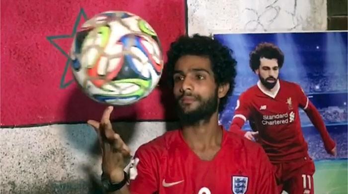 فٹبال کے مصری کنگ محمد صلاح کا ڈوپلیکٹ سامنے آگیا