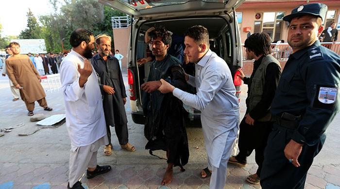 افغان صوبے ننگرہار میں خودکش دھماکا، 25 افراد ہلاک