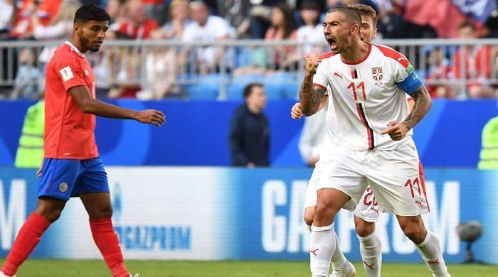 فٹبال ورلڈ کپ 2018: سربیا نے کوسٹاریکا کو شکست دے دی