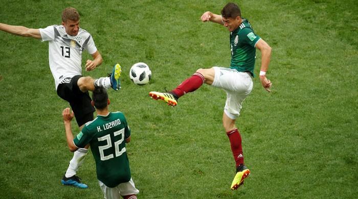 فٹبال ورلڈ کپ 2018: دفاعی چیمپئن جرمنی کو میکسیکو کے ہاتھوں اپ سیٹ شکست