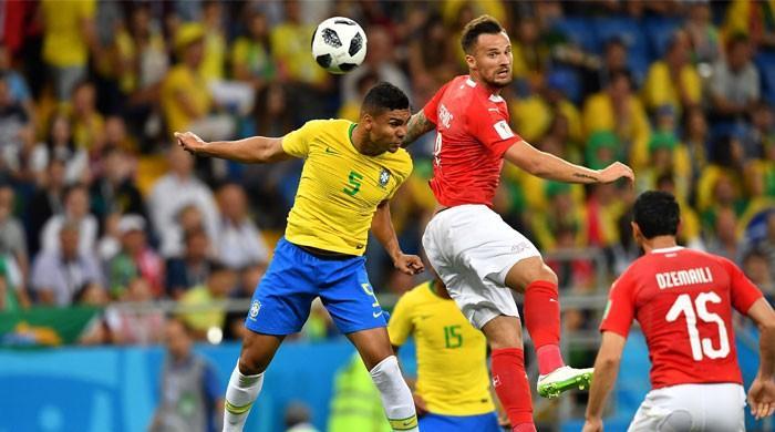 فٹبال ورلڈ کپ 2018: برازیل اور سوئٹزرلینڈ کا میچ برابر