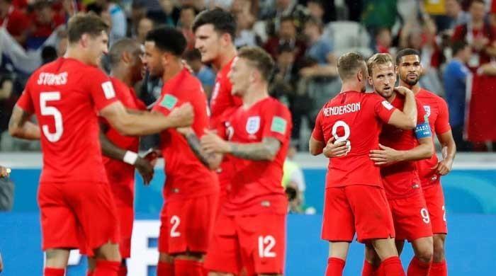 فیفا ورلڈکپ میں انگلینڈ نے تیونس کو شکست دے دی