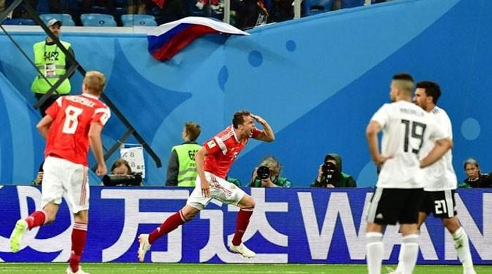 فیفا ورلڈ کپ: محمد صلاح کے گول کے باوجود مصر کو روس سے شکست