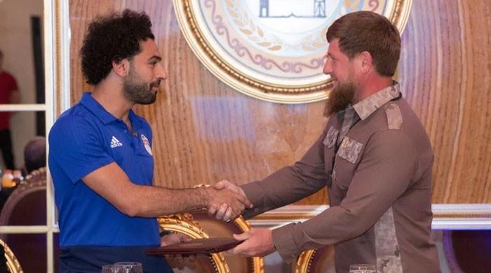 مصر کے محمد صلاح کو چیچنیا کی اعزازی شہریت مل گئی
