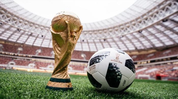 فٹبال ورلڈ کپ میں آج مزید 3 میچز کھیلے جائیں گے