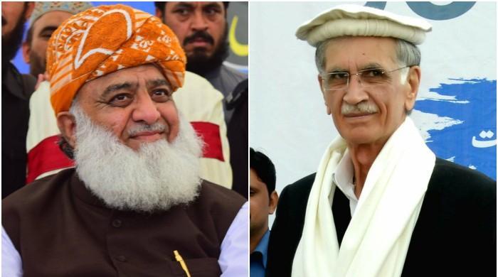 مولانا فضل الرحمان اور پرویز خٹک کے اثاثوں کی تفصیلات منظر عام پر