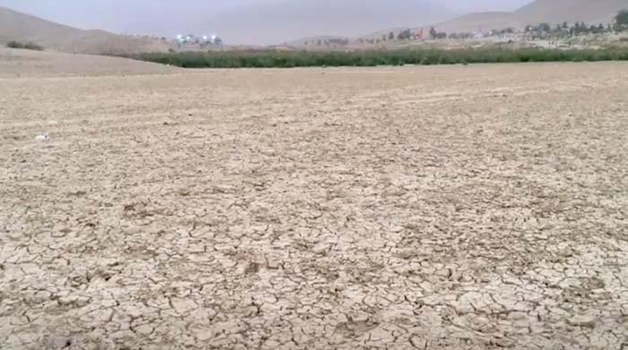 کوئٹہ کی ہنہ جھیل ایک بار پھر خشک سالی کا شکار