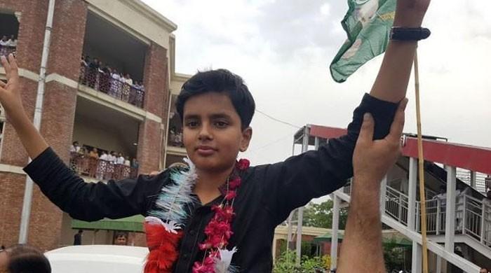 چوہدری نثار کیخلاف لیگی رہنما کا 11 سالہ بیٹا میدان میں آگیا
